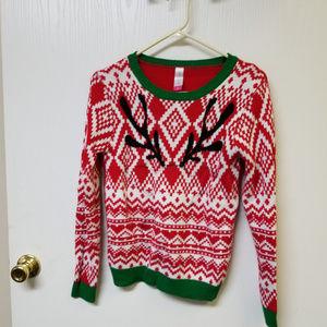 No Boundaries Christmas Sweater Size Medium